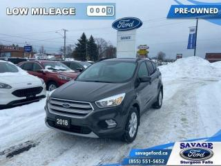 Used 2018 Ford Escape SE  - One owner - Local - Ex-lease - $157 B/W for sale in Sturgeon Falls, ON