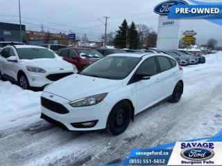 Used 2017 Ford Focus SEL Hatch  - Trade-in - Alloy Wheels - $96 B/W for sale in Sturgeon Falls, ON