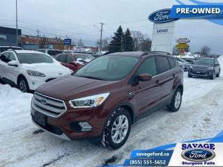 Used 2018 Ford Escape SEL  - One owner - Ex-lease - Local - $167 B/W for sale in Sturgeon Falls, ON