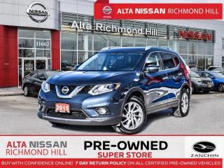 Used 2015 Nissan Rogue SL Prem.AWD   Lethr   Navi   360CAM   BSW   Monrof for sale in Richmond Hill, ON