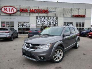 Used 2013 Dodge Journey SXT, 7 Passenger, DVD Player, Remote Starter. for sale in Niagara Falls, ON