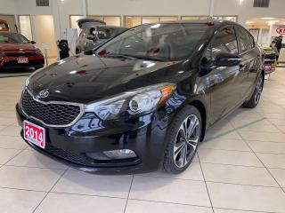 Used 2014 Kia Forte SX AT for sale in Waterloo, ON