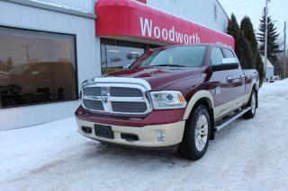 Used 2016 RAM 1500 Longhorn for sale in Kenton, MB