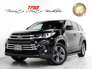 Used 2017 Toyota Highlander LIMITED I 7-PASS I LEATHER I NAVI I PANO for sale in Vaughan, ON