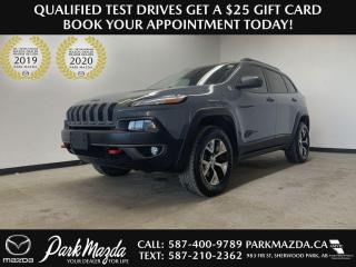 Used 2014 Jeep Cherokee Trailhawk for sale in Sherwood Park, AB