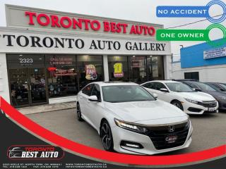 Used 2018 Honda Accord Sedan Sport CVT | NO ACCIDENT | LOW KM | ONE OWNER | PUSH BUTTON for sale in Toronto, ON