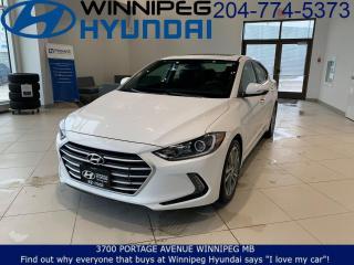 Used 2017 Hyundai Elantra GLS for sale in Winnipeg, MB