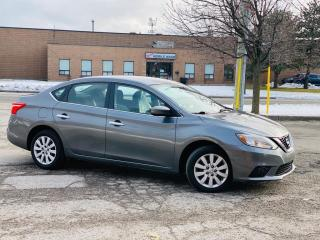Used 2016 Nissan Sentra 4dr Sdn S for sale in Brampton, ON