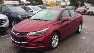 Used 2017 Chevrolet Cruze 4DR SDN AUTO LT for sale in Scarborough, ON