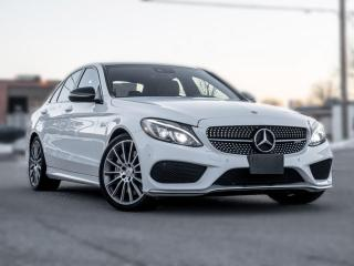 Used 2017 Mercedes-Benz C-Class AMG C43 4MATIC | RED INT |NAV|PANROOF|LOADED for sale in North York, ON