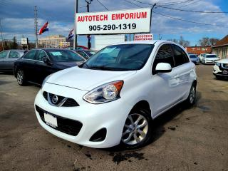 Used 2018 Nissan Micra SV STYLE PKG Alloys/Bluetooth/Camera&GPS* for sale in Mississauga, ON