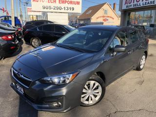 Used 2018 Subaru Impreza Convenience AWD Camera/Bluetooth/Navigation for sale in Mississauga, ON