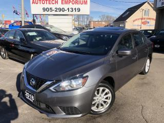 Used 2018 Nissan Sentra SV w/SUNROOF Camera/Heated Seats/Bluetooth&GPS* for sale in Mississauga, ON