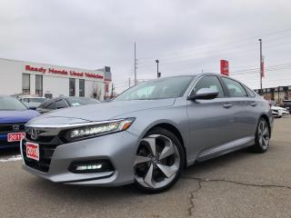 Used 2018 Honda Accord Sedan Touring 2.0 - Navigation - Leather - Loaded!! for sale in Mississauga, ON