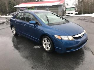 Used 2011 Honda Civic LX-S Sedan 5-Speed MT for sale in Truro, NS