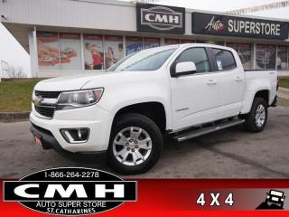 Used 2019 Chevrolet Colorado LT  CAM COL-WARN LANE-DEP P/SEAT 17-AL for sale in St. Catharines, ON