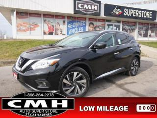 Used 2016 Nissan Murano Platinum  NAV CAM ROOF LEATH HTD-S/W 20-AL for sale in St. Catharines, ON