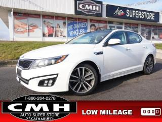 Used 2015 Kia Optima SX Turbo  NAV CAM BLIND-SPOT ROOF LEATH 18-AL for sale in St. Catharines, ON