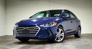 Used 2017 Hyundai Elantra LIMITED|TEXT.US.647.678.7778| SUNROOF|REARVIEW| for sale in Mississauga, ON