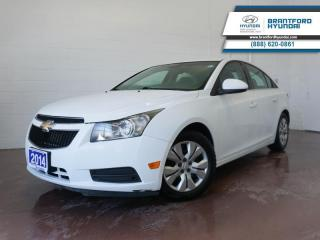 Used 2014 Chevrolet Cruze MANUAL | WINTER TIRES | BLUETOOTH  - $49 B/W for sale in Brantford, ON