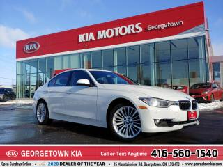 Used 2015 BMW 3 Series 328i | LTHR | NAV | ROOF | HTD SEATS | 41K KMS| BT for sale in Georgetown, ON