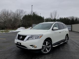 Used 2015 Nissan Pathfinder Platinum 4WD for sale in Cayuga, ON