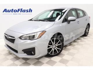 Used 2018 Subaru Impreza SPORT-TOURING* AWD* TOIT/ROOF* MAGS* CAMERA* for sale in St-Hubert, QC