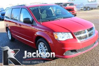 Used 2016 Dodge Grand Caravan SXT - Rear DVD, Bluetooth, Stow and go for sale in Medicine Hat, AB