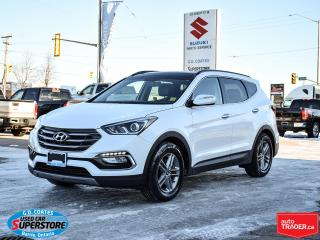 Used 2017 Hyundai Santa Fe Sport SE AWD ~Heated Leather Seats/Wheel ~Pano Roof ~Cam for sale in Barrie, ON