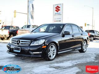 Used 2012 Mercedes-Benz C-Class C 250 4Matic ~Heated Leather ~Roof ~ONLY 87,000 KM for sale in Barrie, ON