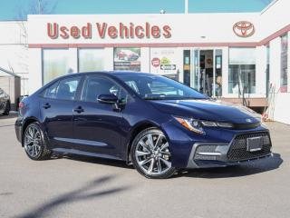 Used 2020 Toyota Corolla XSE NAVI  ALLOY LEATHER BLIND-SP for sale in North York, ON