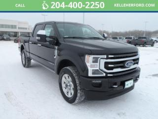 New 2021 Ford F-250 Super Duty SRW Platinum for sale in Brandon, MB