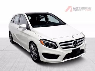 Used 2017 Mercedes-Benz B-Class B250 AMG Pack 4Matic Cuir Toit Pano GPS Caméra for sale in Île-Perrot, QC
