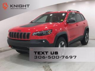 Used 2019 Jeep Cherokee Trailhawk 4x4 V6 | Leather | for sale in Regina, SK