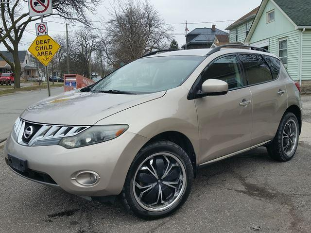 2009 Nissan Murano SL AWD Heated Seats Locally Owned Good Service Record