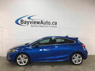 Used 2018 Chevrolet Cruze Premier Auto - AUTO! REVERSE CAM! HTD SEATS! ONSTAR! + MUCH MORE! for sale in Belleville, ON