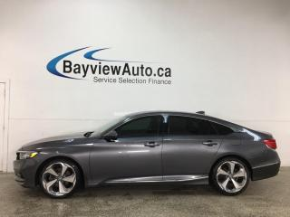Used 2019 Honda Accord Touring 2.0T - SUNROOF! HEATED LEATHER! NAV! HONDA LINK! + MUCH MORE! for sale in Belleville, ON