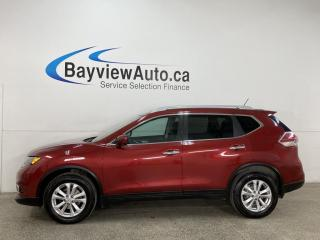 Used 2016 Nissan Rogue SV - AWD! PANOROOF! NAV! PWR LIFTGATE! + MORE! for sale in Belleville, ON