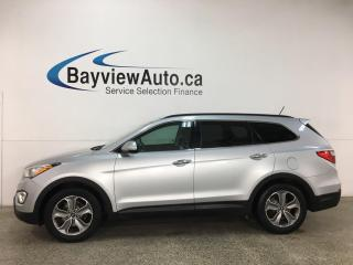 Used 2013 Hyundai Santa Fe XL Premium - 7PASS! AWD! PANOROOF! HTD LEATHER! + MORE! for sale in Belleville, ON