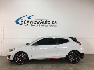 Used 2020 Hyundai Veloster N N - 6SPD! 275 HP! ALLOYS! + MUCH MORE! for sale in Belleville, ON