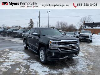 Used 2018 Chevrolet Silverado 1500 High Country  - Navigation for sale in Kemptville, ON