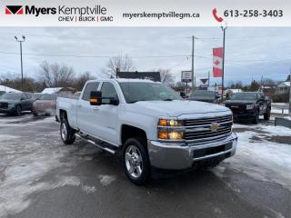 Used 2017 Chevrolet Silverado 2500 HD WT  -  Power Windows for sale in Kemptville, ON