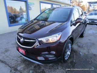 Used 2017 Buick Encore ALL-WHEEL DRIVE TOURING EDITION 5 PASSENGER 1.4L - TURBO.. LEATHER TRIM.. POWER SUNROOF.. BACK-UP CAMERA.. BLUETOOTH SYSTEM.. for sale in Bradford, ON