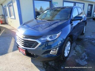 Used 2019 Chevrolet Equinox ALL-WHEEL DRIVE LT EDITION 5 PASSENGER 1.5L - TURBO.. HEATED SEATS.. BACK-UP CAMERA.. BLUETOOTH SYSTEM.. TOUCH SCREEN.. KEYLESS ENTRY & START.. for sale in Bradford, ON
