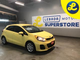 Used 2016 Kia Rio Hands Free Calling * Automatic/Manual Mode * Active Eco Mode * AM/FM/SXM/USB/Aux/ Bluetooth * 6-Speed Auto w/Steptronic Shifter -inc: active eco syste for sale in Cambridge, ON