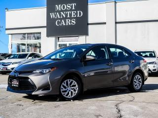 Used 2017 Toyota Corolla LE|LDW|ACC|CAMERA|TOUCHSCREEN|HEATED SEATS|XENONS for sale in Kitchener, ON