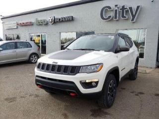 New 2021 Jeep Compass Leather | Sun Sound Nav | Tow |Advance Safety #184 for sale in Medicine Hat, AB