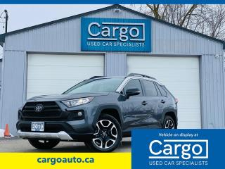 Used 2019 Toyota RAV4 TRAIL for sale in Stratford, ON