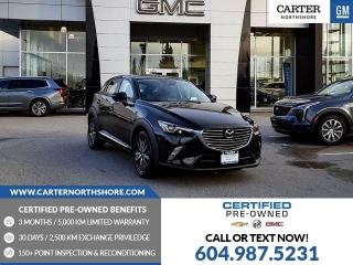 Used 2018 Mazda CX-3 GT NAVIGATION - MOONROOF - LEATHER - BLIND SENSOR for sale in North Vancouver, BC