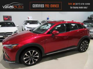 Used 2019 Mazda CX-3 GT AWD| SUNROOF | NAVI | LEATHER| 18